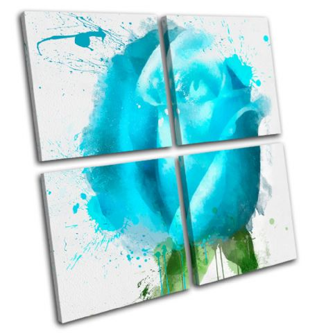 Blue Rose Floral - 13-0697(00B)-MP01-LO